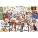 Puzzle  Gibsons-G2712 XXL teile - Cat's Cookie Club