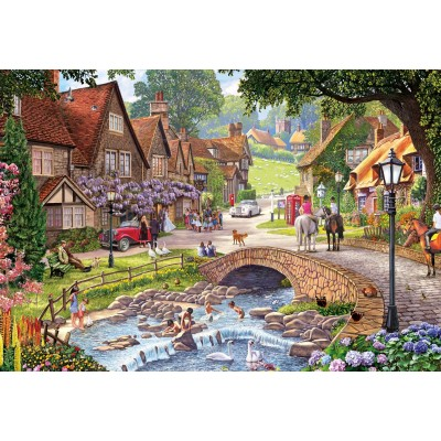 Puzzle  Gibsons-G2714 XXL Teile - Wisteria Wedding
