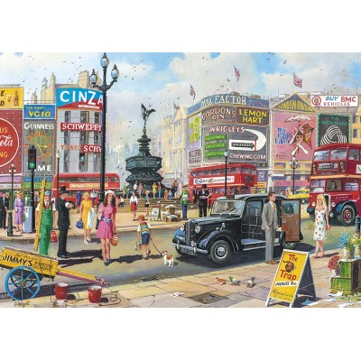 Puzzle Gibsons-G2716 XXL Teile - Piccadilly