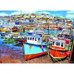 Puzzle  Gibsons-G3525 XXL Teile - Mevagissey Harbour
