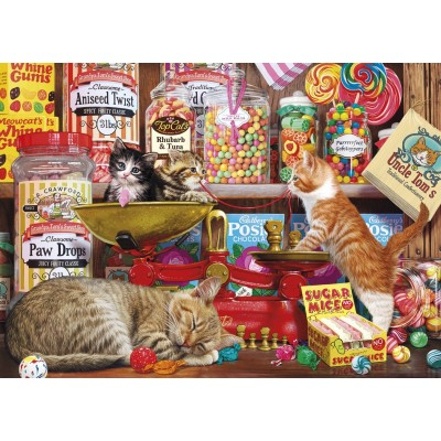 Puzzle  Gibsons-G3529 XXL Teile - Paw Drops & Sugar Mice