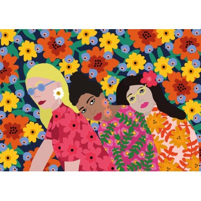 Puzzle Gibsons-G3606 Three Women