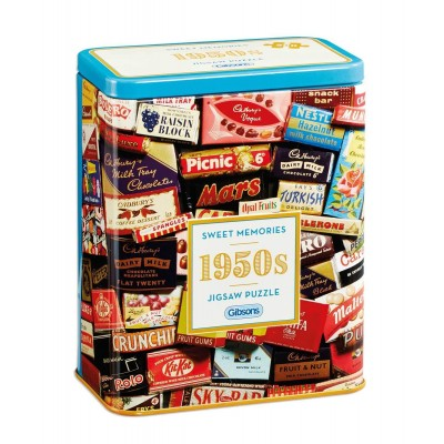 Puzzle  Gibsons-G3830 1950s Sweet Memories