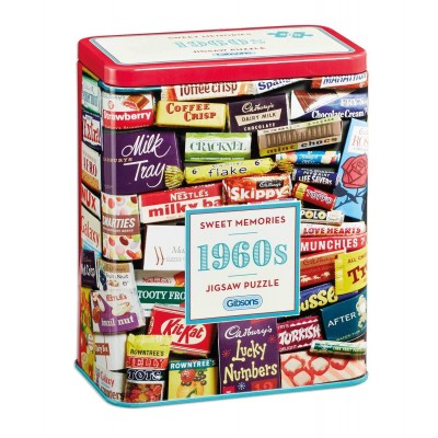 Puzzle Gibsons-G3831 1960s Sweet Memories