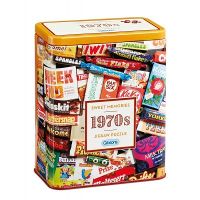 Puzzle  Gibsons-G3832 1970s Sweet Memories