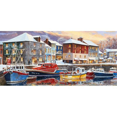 Puzzle Gibsons-G4039 Terry Harrison - Padstow in Winter