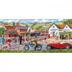 Puzzle  Gibsons-G4046 Derek Roberts - Railroad Crossing
