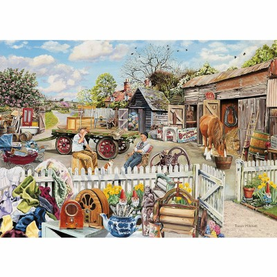 Gibsons-G5018 Puzzle 4 x 500 Teile: Rag and Bone