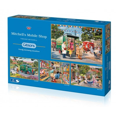 Gibsons-G5040 4 Puzzles - Trevor Mitchell - Mitchell's Mobile Shop