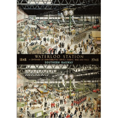 Puzzle Gibsons-G604 Helen McKie: Waterloo Station
