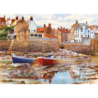 Puzzle  Gibsons-G6189 Terry Harrison: Robin Hood's Bay