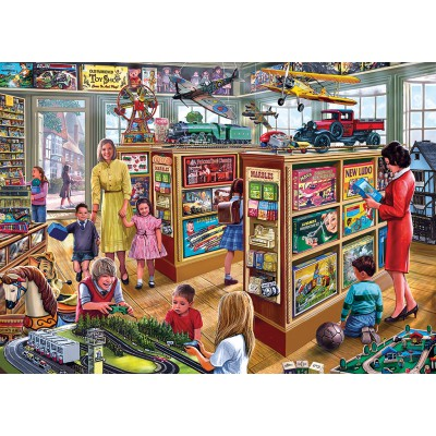 Puzzle  Gibsons-G6191 Steve Crisp: The Toy Shop