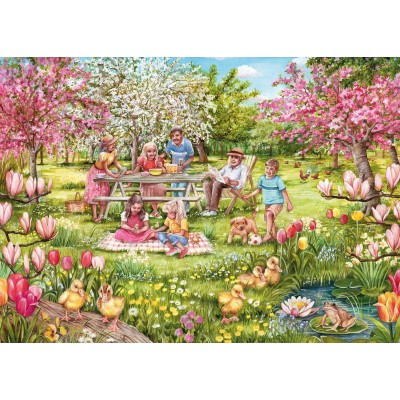 Puzzle Gibsons-G6207 Five Little Ducks