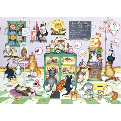 Puzzle Gibsons-G6217 Linda Jane Smith - Life is Sweet