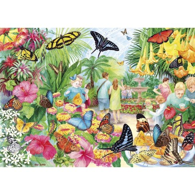 Puzzle Gibsons-G6231 Butterfly House