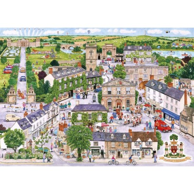 Puzzle Gibsons-G6236 Wonderful Woodstock