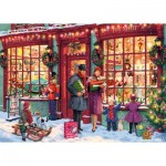 Puzzle  Gibsons-G6252 Christmas Toy Shop