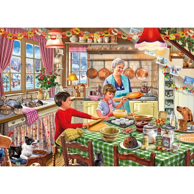 Puzzle  Gibsons-G6253 Christmas Treats