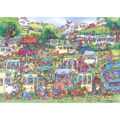 Puzzle  Gibsons-G6258 Armand Foster - Caravan Chaos