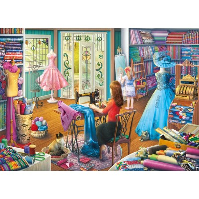 Puzzle  Gibsons-G6261 Eduard - The Dressmaker's Daughter