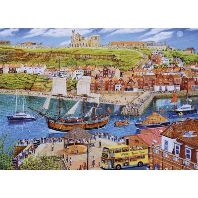 Puzzle Gibsons-G6286 Endeavour, Whitby