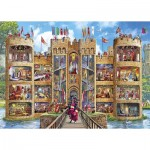 Puzzle  Gibsons-G6289 Castle Cutaway