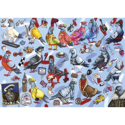 Puzzle  Gibsons-G6607 Pigeons of Britain