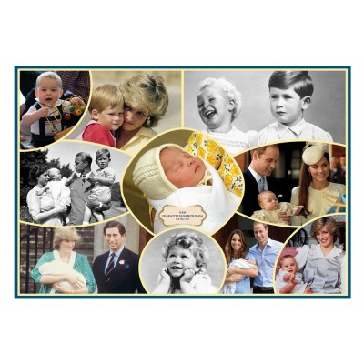 Puzzle  Gibsons-G7067 Royal Babies