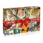 Puzzle  Gibsons-G7094 Christmas Festive Fun