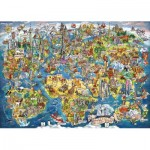 Puzzle  Gibsons-G7098 Wonderful World
