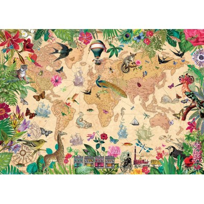Puzzle  Gibsons-G7202 World of Life