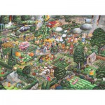 Puzzle  Gibsons-G811 Mike Jupp: I Love Gardening