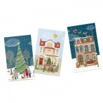 Gibsons-G9501 12 Puzzles - Christmas Street