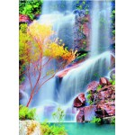 Puzzle  Gold-Puzzle-60034 Verwunschener Wasserfall