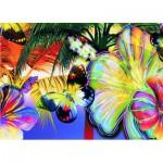 Puzzle  Gold-Puzzle-60041 Schmetterlinge