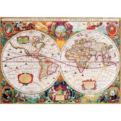 Puzzle  Gold-Puzzle-60096 Antike Weltkarte