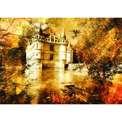 Puzzle  Gold-Puzzle-60188 Château d'Azay le Rideau