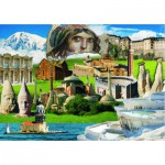 Puzzle  Gold-Puzzle-60256 Kulturerbe der Türkei