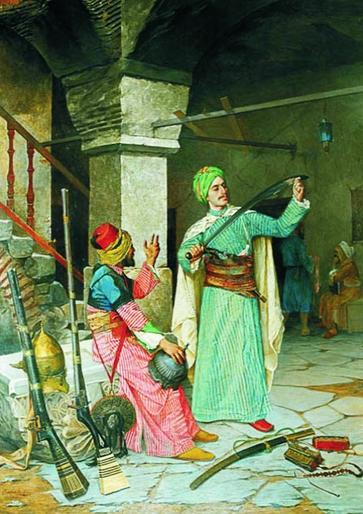 Puzzle  Gold-Puzzle-60263 Osman Hamdi Bey: Die Waffenhändler