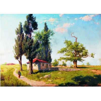 Puzzle  Gold-Puzzle-60300 Hoca Ali Riza: Landscape