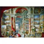 Puzzle  Gold-Puzzle-60485 Giovanni Paolo Pannini: Ansichten des modernen Rom