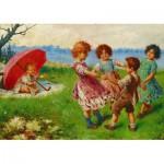 Puzzle  Gold-Puzzle-60676 Frederico Olivia: Kinderspiele