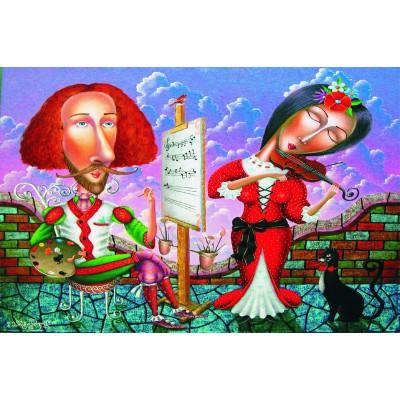 Puzzle  Gold-Puzzle-61338 Musikalisches Porträt