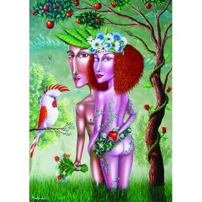 Puzzle  Gold-Puzzle-61369 Adam und Eva