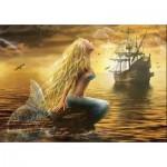 Puzzle  Gold-Puzzle-61406 Meerjungfrau