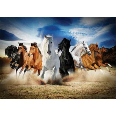 Puzzle  Gold-Puzzle-61468 Full Speed Gallop