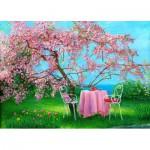 Puzzle  Gold-Puzzle-61499 Spring in Plum Garden