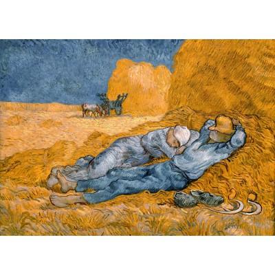 Puzzle  Grafika-Kids-00002 Van Gogh Vincent: La Sieste (d'après Millet), 1890