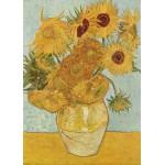 Puzzle  Grafika-Kids-00032 Vincent van Gogh: Stilleben mit 12 Sonnenblumen, 1888