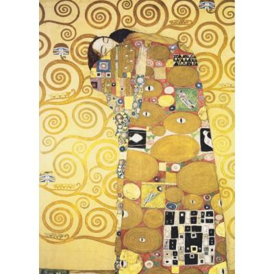 Puzzle  Grafika-Kids-00070 Klimt Gustav: Die Umarmung
